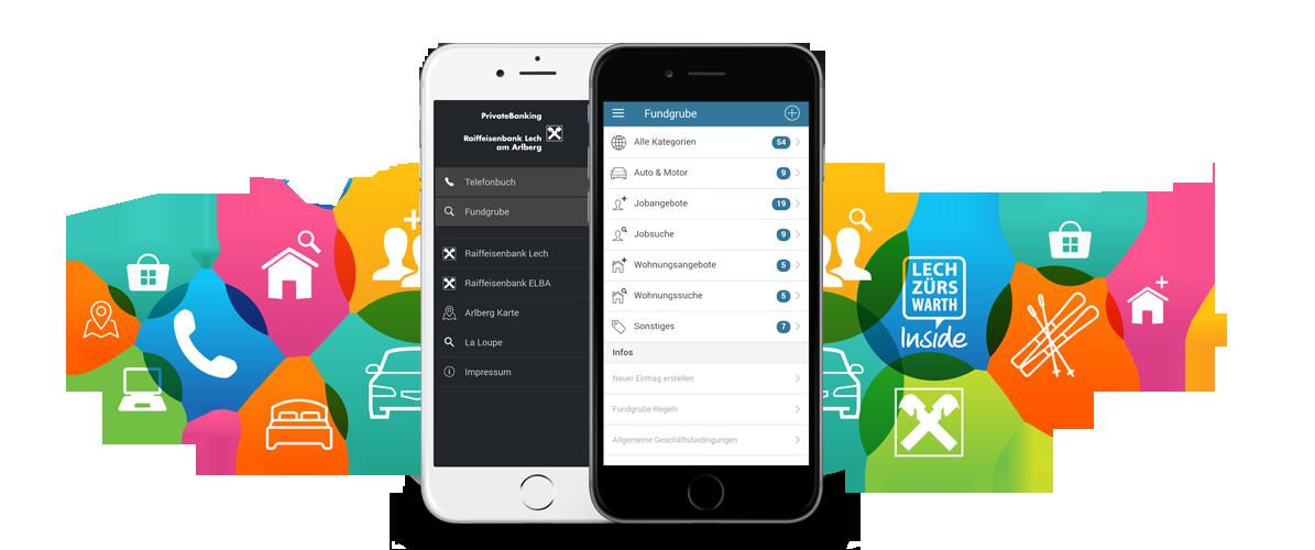 Inside-App: Telefonbuch und Fundgrube für Lech, Zürs und Warth